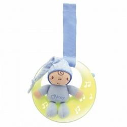 Chicco Подвеска Луна, спокойной ночи голубая