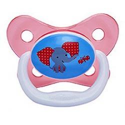 Dr. Brown Пустышка PreVent БАБОЧКА, 6 - 12 месяцев, с крышкой, для девочек