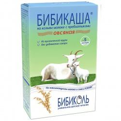Бибикаша - каша овсяная на козьем молоке 5 мес. 200 г.