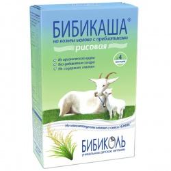 Бибикаша - каша рисовая на козьем молоке 4 мес. 200 г.