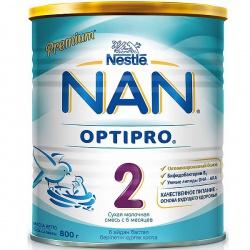 Молочная смесь НАН 2 Premium Optipro с 6 месяцев, 800 г