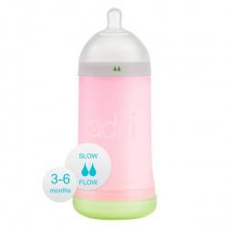 Бутылочка Adiri NxGen Slow Flow Pink (3-6 мес., 281 ml)