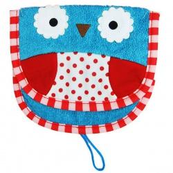 Skip Hop Детская мочалка для мытья Сова