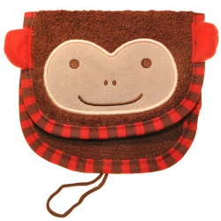 Skip Hop Детская мочалка для мытья Мартышка