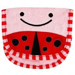 Skip Hop Детская мочалка для мытья Божья коровка