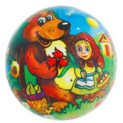 Мяч детский Машенька с Мишкой 60 гр.