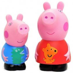 Набор резиновых игрушек Пеппа и Джордж
