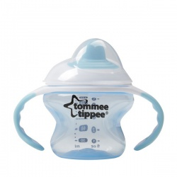 Tommee Tippee Тренировочная чашка-непроливайка 150 мл. от 4-7 мес.