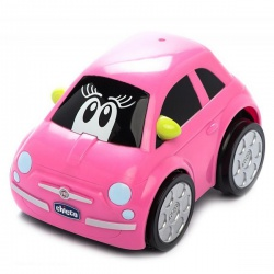 Игрушка машинка Chicco Turbo Touch Fiat 500 Pink