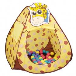 """Игровой домик """"Жираф"""" + 100 шариков"""