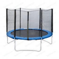 "Батут с защитной сеткой ""Trampoline 12"" диаметр 3,7 м"