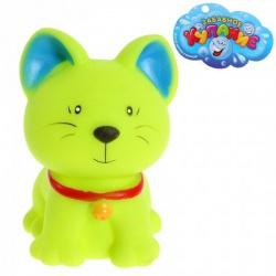 Резиновая игрушка Кошечка, цвета МИКС