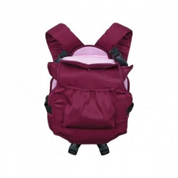 Zaffiro №20 Рюкзак-кенгуру Zaffiro 7 Темно бордовый коробка