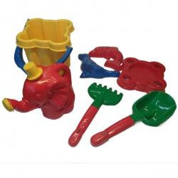 Песочный набор 7 эл. в рюкзаке