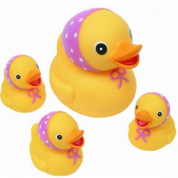 КУРНОСИКИ Игрушка для ванной Семейка уточки