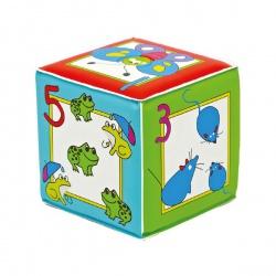 КУРНОСИКИ Игрушка-кубик с пищалкой Учимся считать