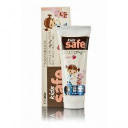 CJ Lion Детская зубная паста Kids Safe со вкусом клубники, от 3-х до 12 лет, 90 гр..
