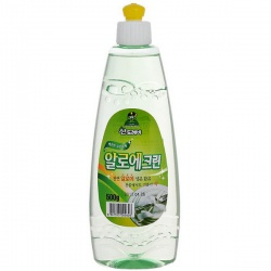 CJ Lion Средство для мытья посуды Sandokkaebi Aloe Clean, флакон, 500 гр