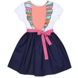 """Платье, Коллекция""""Птица счастья"""", розовый"""