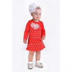 Платье Марианна с шелкографией