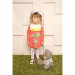 Платье Цветочек с шелкографией