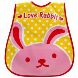 Нагрудник клеенчатый Голодный кролик Криштиано