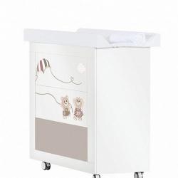 FERETTI Комод пеленальный Bagnetto Fabienne et Mathieu (bianco/bianco)