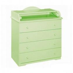LIEL АБ 33.4 Р Комод с пеленальным столиком (зеленый)