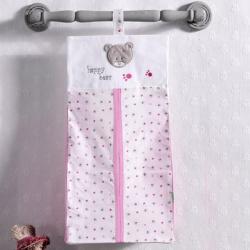 KIDBOO Прикроватная сумка серии Cute Bear (Pink)