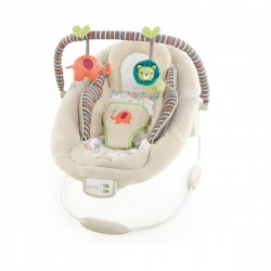 Кресло-качалка Bright Starts Comfort & Harmony Песочное сафари