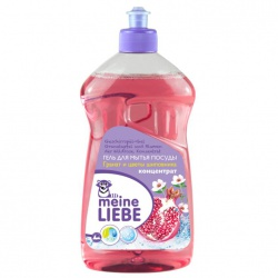 MEINE LIEBE Гель для мытья посуды, концентрат, Гранат и цветы шиповника, 500мл