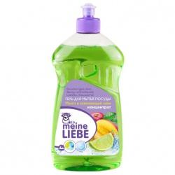 MEINE LIEBE Гель для мытья посуды, концентрат, Манго и освежающий лайм, 500 мл