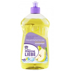 MEINE LIEBE Гель для мытья посуды, концентрат, Сочная груша, 500мл