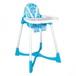 Стульчик для кормления Pilsan Elite Baby High цвет голубой