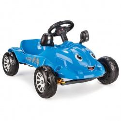 Педальная машина Pilsan Herby с сигналом цвет синий