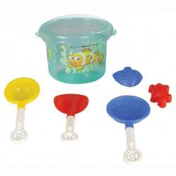 Набор для игры в песочнице Pilsan 6 предметов 06-131