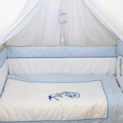 Bombus 1432 Комплект в кроватку Дельфинчик 7пр
