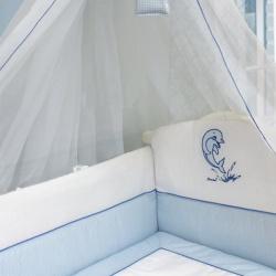 Bombus 1436 Комплект в кроватку Дельфинчик 7пр