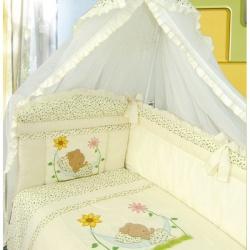 ЗОЛОТОЙ ГУСЬ Комплект в кроватку Сладкий сон бежевый