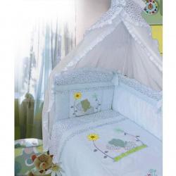 ЗОЛОТОЙ ГУСЬ Комплект в кроватку Сладкий сон голубой