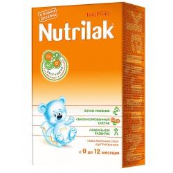 Молочная смесь Нутрилак до 12 мес с рождения, 350 г