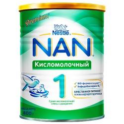 Молочная смесь НАН кисломолочный 1 с рождения, 400 г.