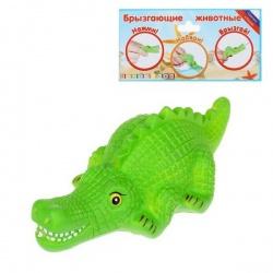 Резиновая игрушка Крокодил Буль, МИКС