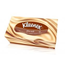 Kleenex Салфетки бумажные в коробках ультрасофт (56 шт)