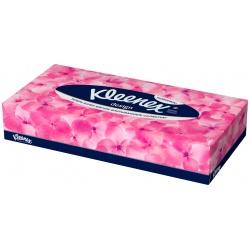 Kleenex Салфетки бумажные в коробках Дизайн, (70 шт.)