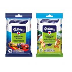 Kleenex влажные антибактериальные салфетки Дисней (10 шт.)
