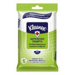 Kleenex влажные антибактериальные салфетки (10 шт.)