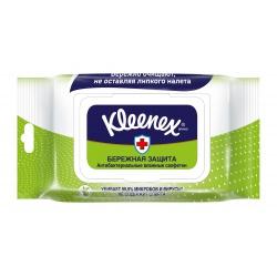 Kleenex влажные антибактериальные салфетки семейные (40 шт.)