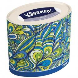 Kleenex Салфетки бумажные в коробках Декор Овал (64 шт.)