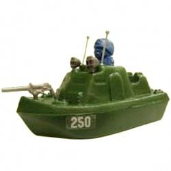 Катер патрульный с солдатиком (Патриот) 13,5х7,5 см (Россия)
